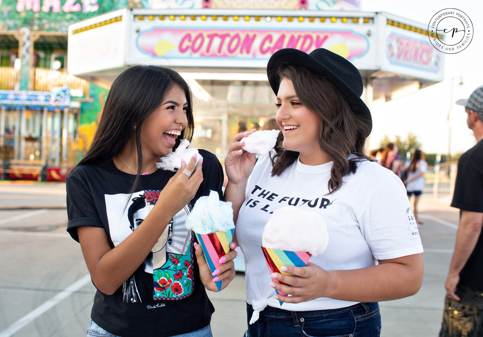 Jaidan and Alyssa – Seniors at the Fair